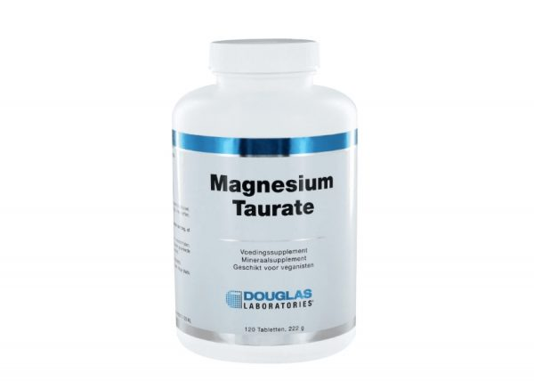 magnesium taurate douglas 600x428 - Magnesium Taurate 400 (120 tabletten) - Douglas Laboratories