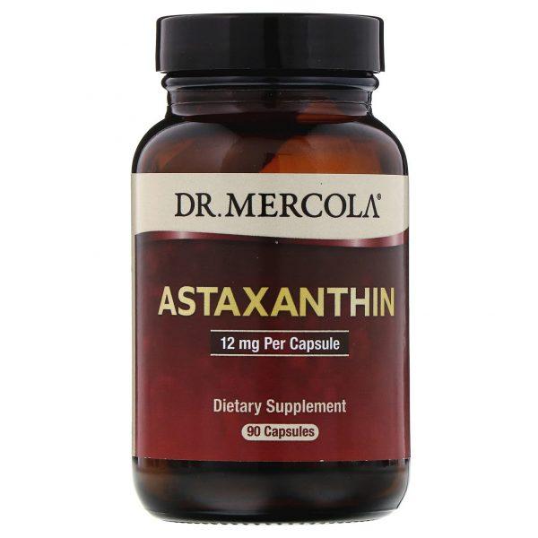 mercola astaxanthin 1 3 600x600 - Astaxanthin 12 mg (90 Capsules) - Dr. Mercola