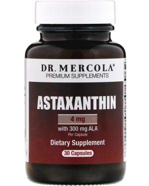 mercola astaxanthin 4mg 1 300x375 - Astaxanthine (30 Capsules) - Dr. Mercola