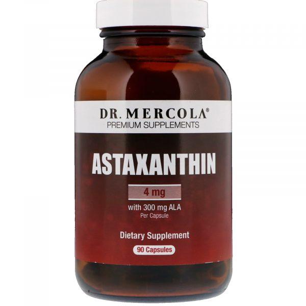 mercola astaxanthin 90 1 600x600 - Astaxanthine (90 Licaps Capsules) - Dr. Mercola