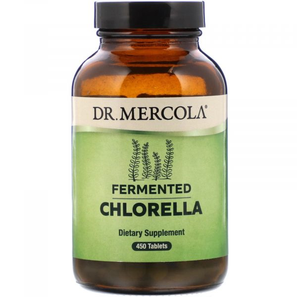mercola chlorella 1 1 600x600 - Gefermenteerde Chlorella (450 tabletten) - Dr Mercola