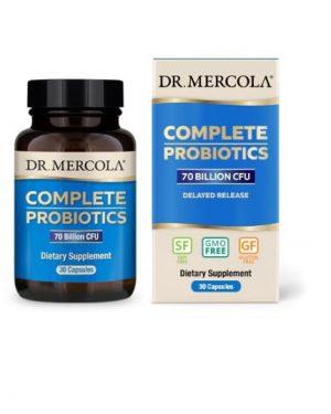 mercola complete probiotics 30 1 300x375 - Complete Probiotica, 70 miljard CFU's (30 Capsules) - Dr. Mercola