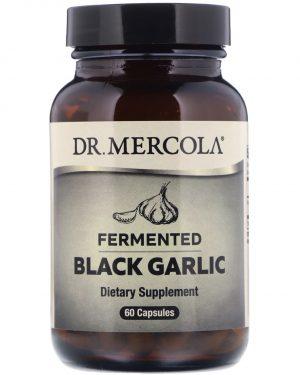 mercola garlic 1 300x375 - Fermented Black Garlic (60 Capsules) - Dr. Mercola