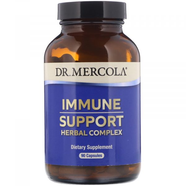 mercola immunesupport 1 600x600 - Dr. Mercola, Premium Supplements, Immune Support, 90 Capsules