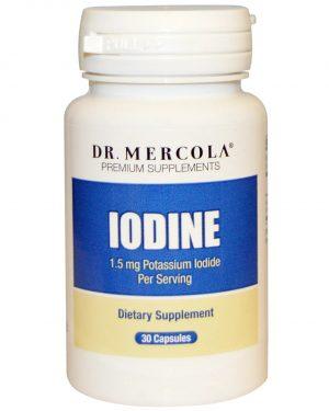 mercola iodine 1 300x375 - Iodine (30 Capsules) - Dr. Mercola