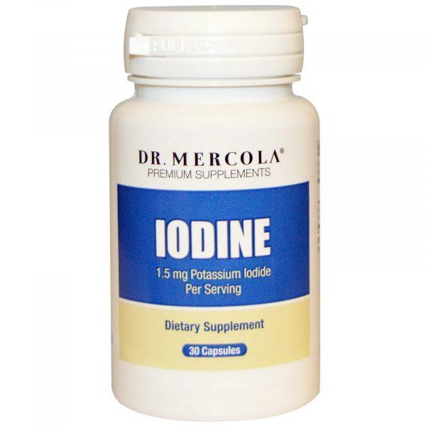 mercola iodine 1 600x600 - Iodine (30 Capsules) - Dr. Mercola