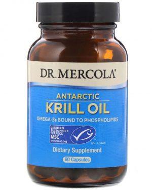 mercola krill 60 1 300x375 - Krill Olie, 1000 mg (60 Softgels) - Dr. Mercola