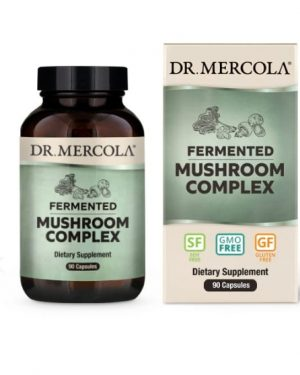 mercola mushroom 1 300x375 - Fermented Mushroom Complex (90 per bottle) - Dr Mercola