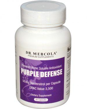 mercola purpledefense 1 300x375 - Purple Defense, Premium Water Oplosbare Antioxidant (30 Capsules) - Dr Mercola