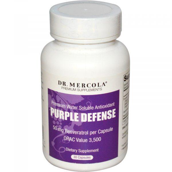mercola purpledefense 1 600x600 - Purple Defense, Premium Water Oplosbare Antioxidant (30 Capsules) - Dr Mercola