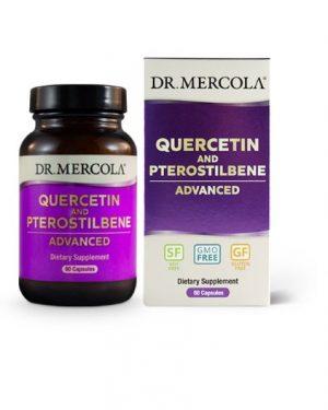 mercola quercetin 300x375 - Quercetin and Pterostilbene Advanced (60 capsules) - Dr. Mercola