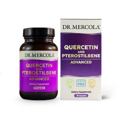 mercola quercetin - Quercetin and Pterostilbene Advanced (60 capsules) - Dr. Mercola