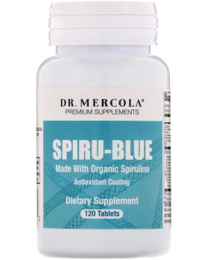 mercola spirublue 1 300x375 - Spiru-Blue met anti-oxidant coating (120 tabletten) - Dr Mercola