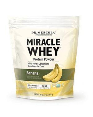 mercola whey banana 300x375 - Miracle Whey Banana (454 gram) - Dr. Mercola