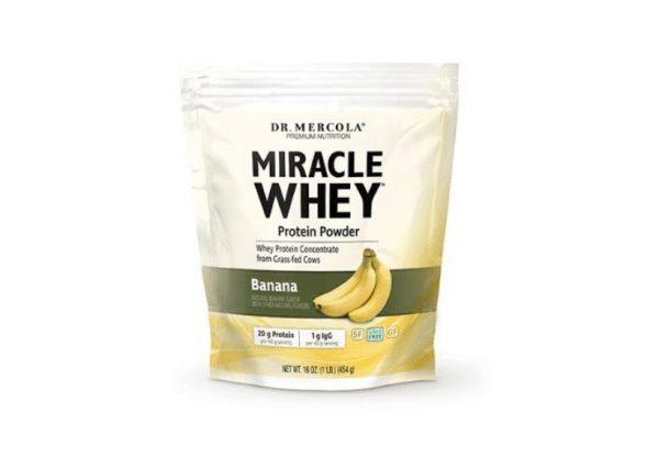 mercola whey banana 600x416 - Miracle Whey Banana (454 gram) - Dr. Mercola