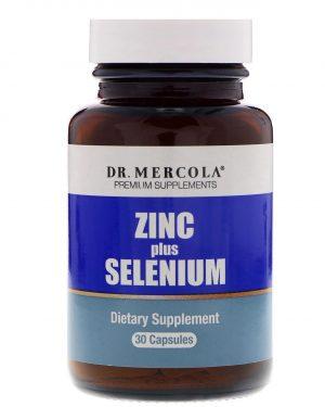 mercola zincselenium1 300x375 - Zinc plus Selenium 15 mg (30 capsules) - Dr. Mercola