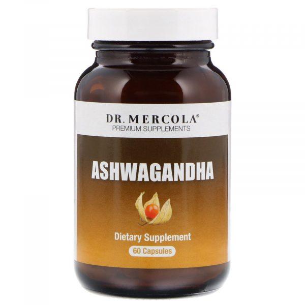 mercola11 600x600 - Organic Ashwagandha 800 mg (60 capsules) - Dr. Mercola