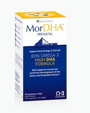 mordha prenatal minami 300x375 - MorDHA Prenatal (60 Capsules) - Minami