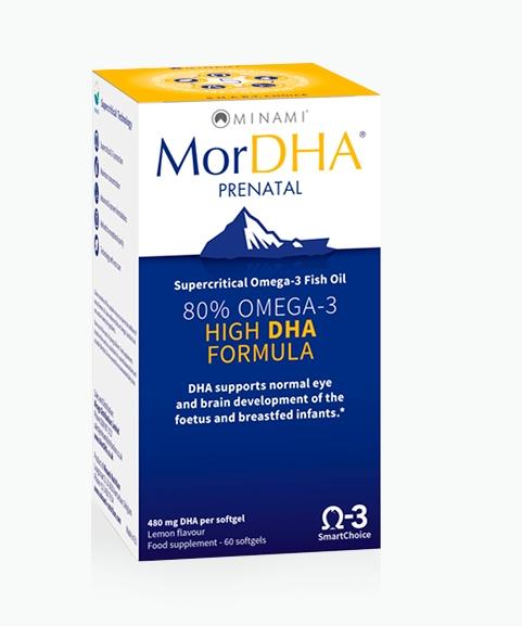 mordha prenatal minami - MorDHA Prenatal (60 Capsules) - Minami