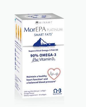 morepa platinum minami 300x375 - MorEPA Platinum (60 Capsules) - Minami