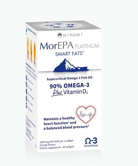 morepa platinum minami - MorEPA Platinum (60 Capsules) - Minami