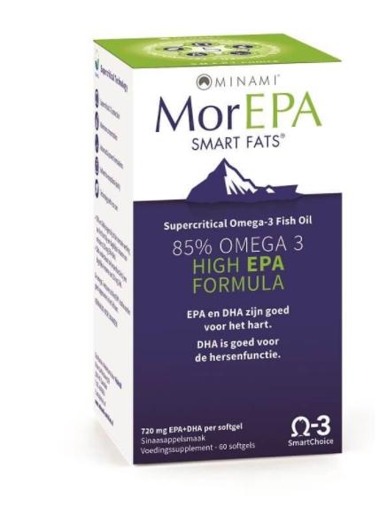 morepa smart 60 minami - MorEPA Smart Fats (60 Capsules) - Minami