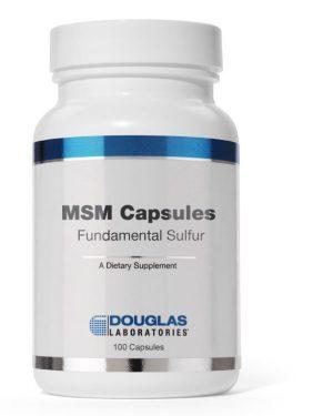 msm capsules fundamental sulfur 90 capsules douglas laboratories 1 300x375 - MSM Capsules met zwavel (90 capsules) - Douglas Laboratories