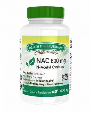 nac n acetyl cysteine 600mg 60 vegecaps non gmo 4 300x375 - N-Acetyl Cysteine NAC 600 mg (non-GMO) (60 Vegicaps) - Health Thru Nutrition