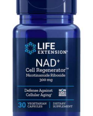 nad cell regenerator 250 mg le1 300x375 - NAD+ Regenerator 250 mg (30 vegetarian capsules) - Life Extension