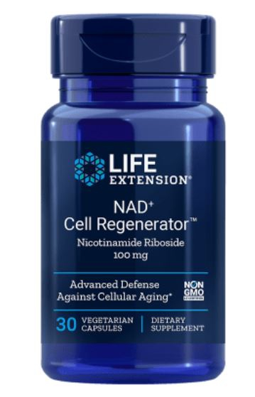 nad cell regenerator nicotinamide riboside 100 mg - Nad + Cell Regenerator Nicotinamide Riboside 100 Mg - 30 vegetarische Capsules - Life Extension