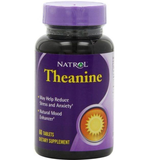 natrol theanine 60 tablets 600x624 - Theanine (60 tabletten) - Natrol