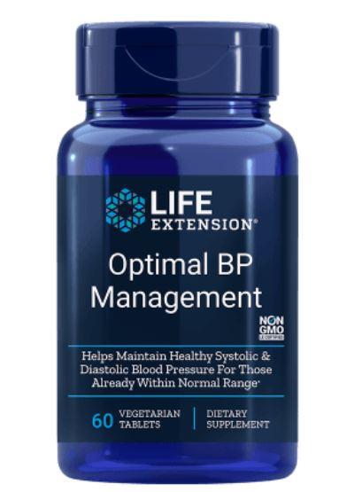 natural bp management   60 tablets le 1 - Natural BP Management (60 tabletten) - Life Extension