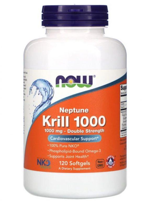 neptune krill 1000  1000 mg 120 softgels   now foods1 600x766 - Neptune Krill 1000- 1000 mg (120 softgels) - Now Foods