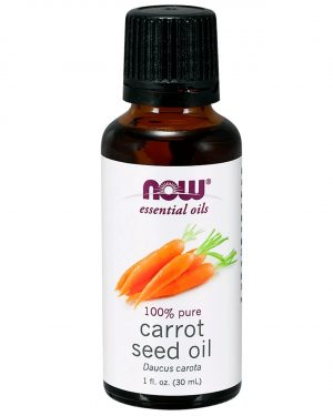 now foods carrot seedoil 1 300x375 - Essential Oils- Carrot Seed Oil (30 ml) - Now Foods