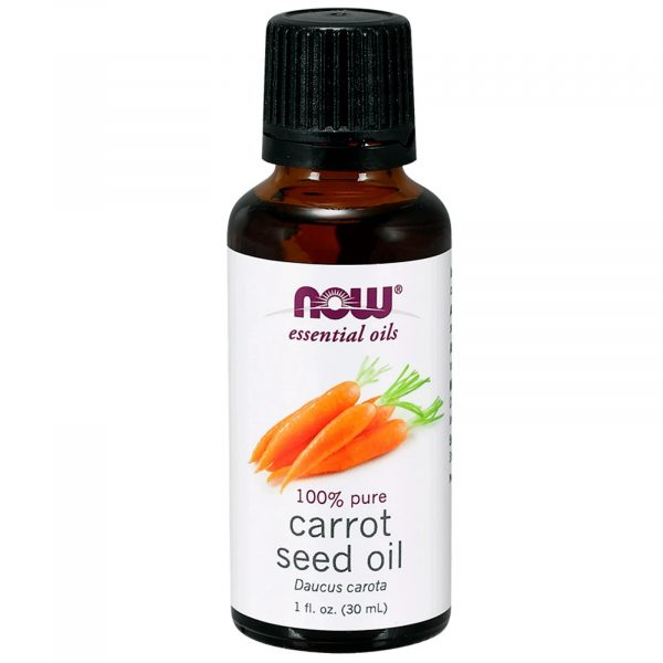 now foods carrot seedoil 1 600x600 - Essential Oils- Carrot Seed Oil (30 ml) - Now Foods