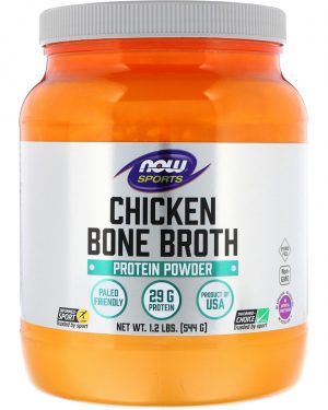 now foods chicken bone broth 544g 1 300x375 - Chicken Bone Broth (544 gram) - Now Foods