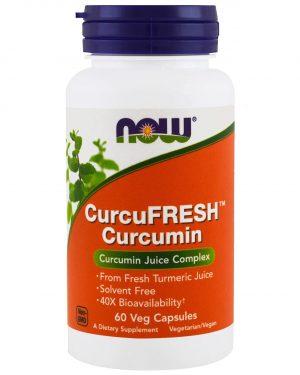 now foods curcumin 60 1 300x375 - CurcuFresh Curcumin (60 Vegetarian Capsules) - Now Foods