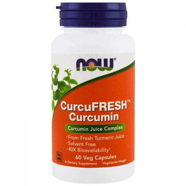 now foods curcumin 60 1 600x600 - CurcuFresh Curcumin (60 Vegetarian Capsules) - Now Foods