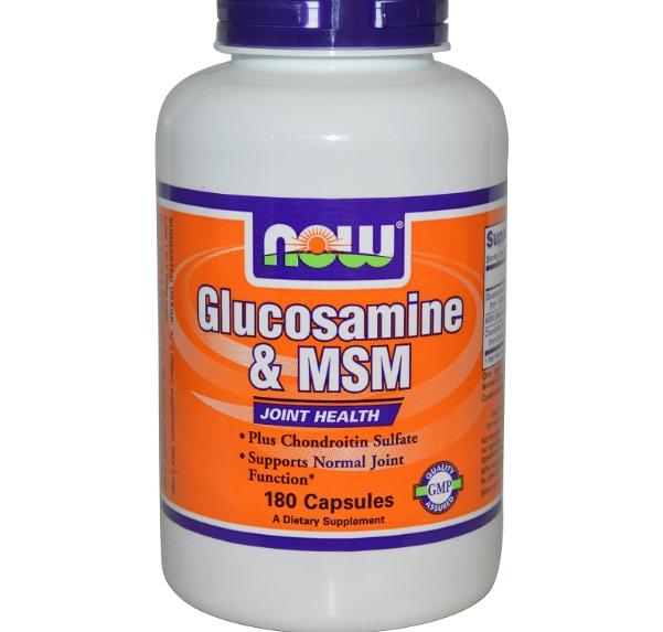 now foods glucosamine 1 - Glucosamine & MSM (180 Capsules) - Now Foods
