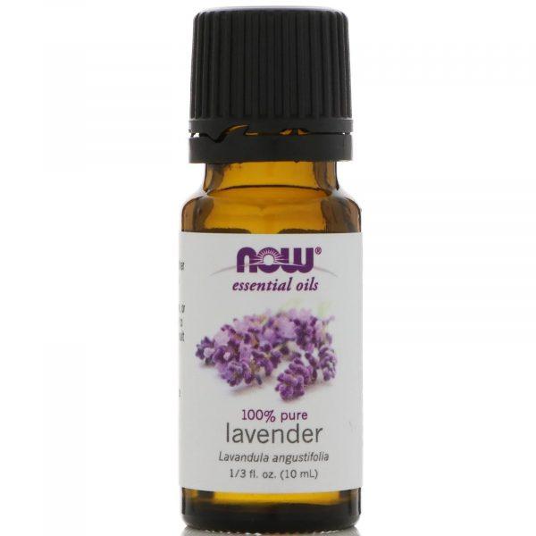 now foods lavender 1 600x600 - Essential Oils- Lavender (10 ml) - Now Foods