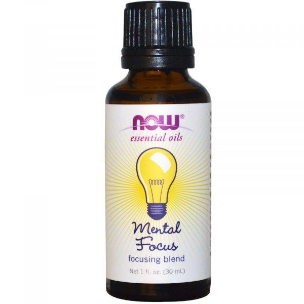 now foods mental focus 1 600x600 - Essential Oils - Mental Focus (30 ml) - Now Foods