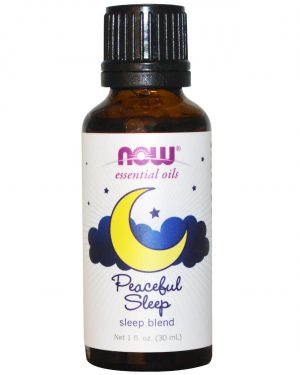 now foods sleep 1 300x375 - Essential Oils - Sleep Blend- Peaceful Sleep (30 ml) - Now Foods