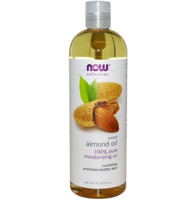 now foods solutions sweet almond oil 16 fl oz 473 ml 600x685 - Zoete amandel olie (473 ml) - Now Foods