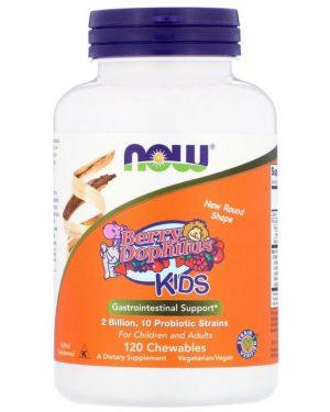 now foods berry dophilus kids 2 billion 120 chewables1 300x375 - Now Foods, Berry Dophilus, Kids, 2 Billion, 120 Chewables