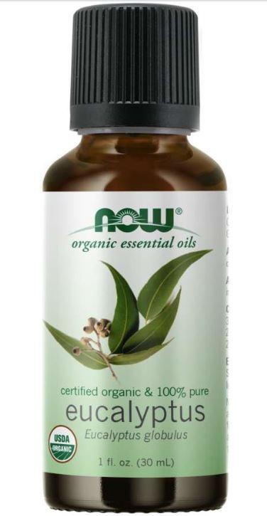 now foods eucalyptus globulus oil organic - Organic Eucalyptus Globulus Oil (30 ml) - Now Foods