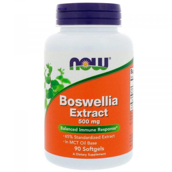 nowfoods boswellia 90 500 1 600x600 - Boswellia Extract 500 mg (90 softgels) - Now Foods
