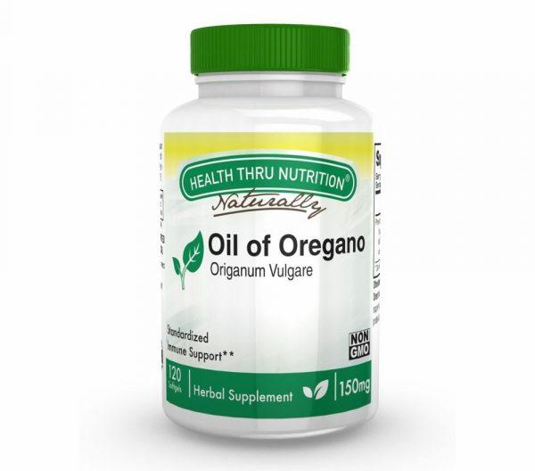oil of oregano as origanum vulgare 150mg non gmo 120 mini softgels 22 600x528 - Oil of Oregano (Wild) 150 mg (non-GMO) (120 Softgels) - Health Thru Nutrition