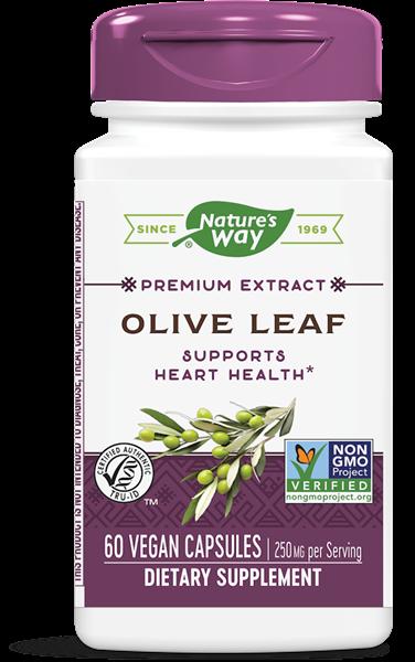 olijfblad gestandaardiseerd 60 vegetarische capsules   nature s way1 - Olijfblad gestandaardiseerd (60 vegetarische capsules) - Nature's Way
