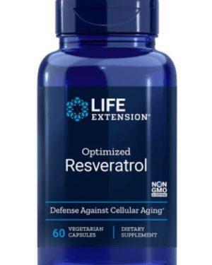 optimized resveratrol le 1 300x375 - Optimized Resveratrol 60 Vegetarian Capsules - Life Extension