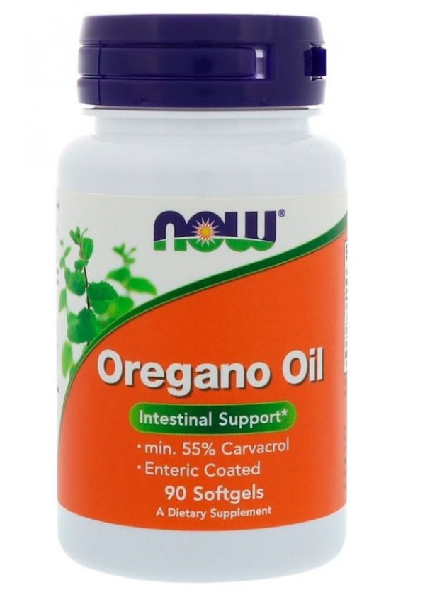 oregano olie 90 softgels   now foods1 600x836 - Oregano Olie (90 Softgels) - Now Foods